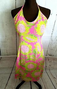 Lilly Pulitzer halter dress